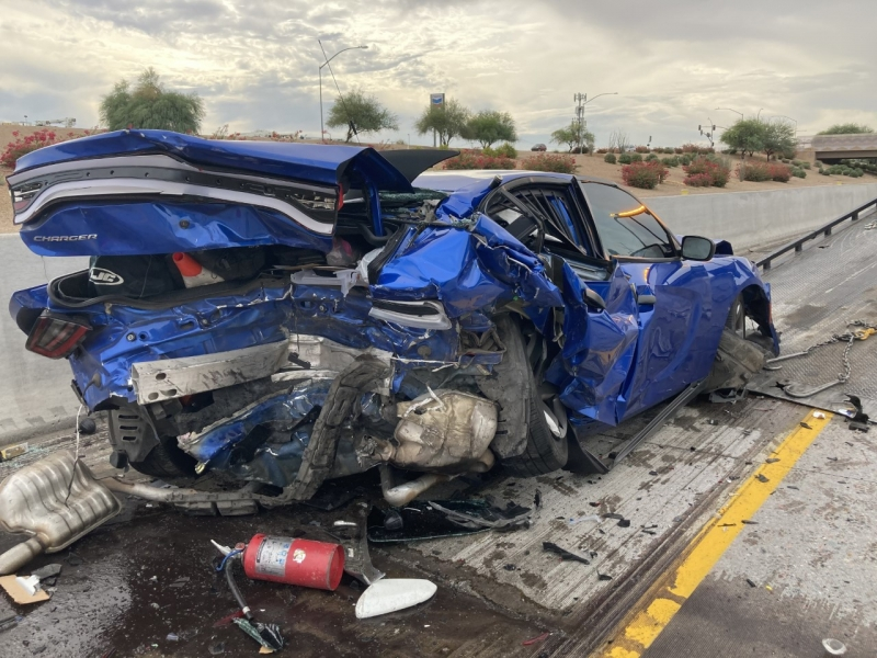 AZDPS Unmarked Aggressive Driver Patrol Vehicle