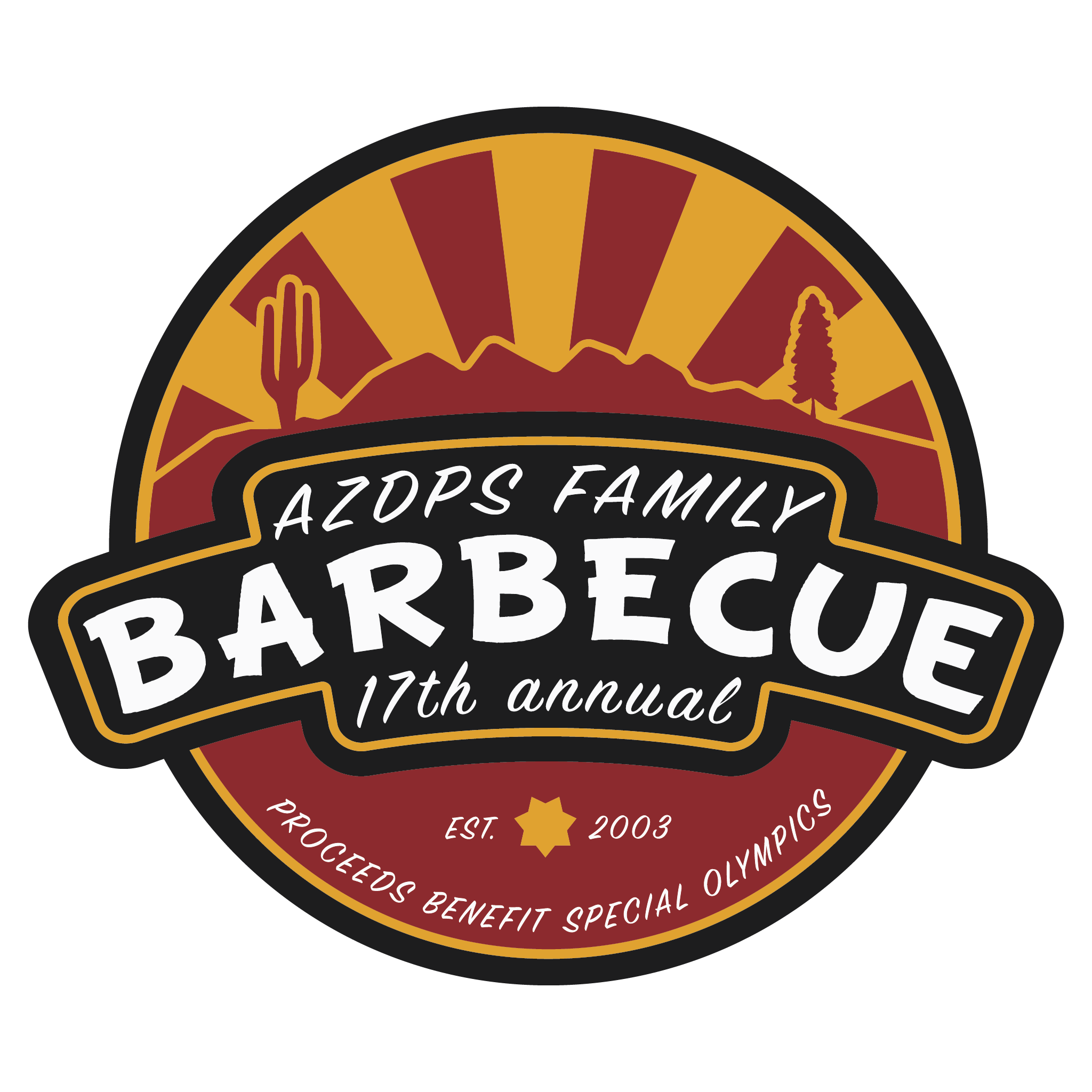17th Annual AZDPS Family Barbecue Logo