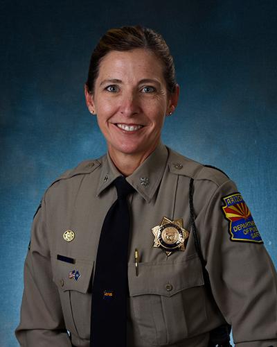 Portrait of Major Jenna Mitchell