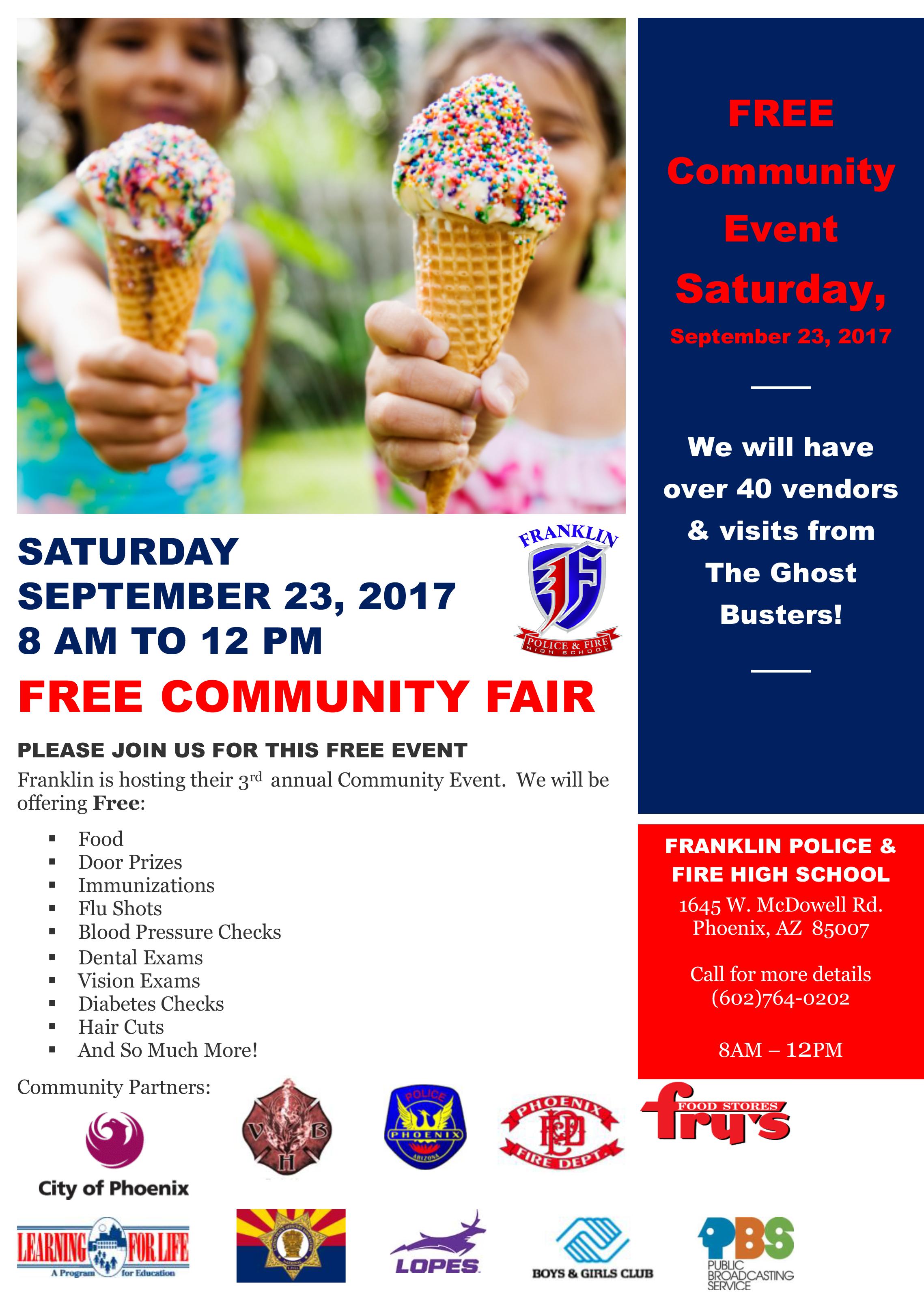 Community Event Flyer English