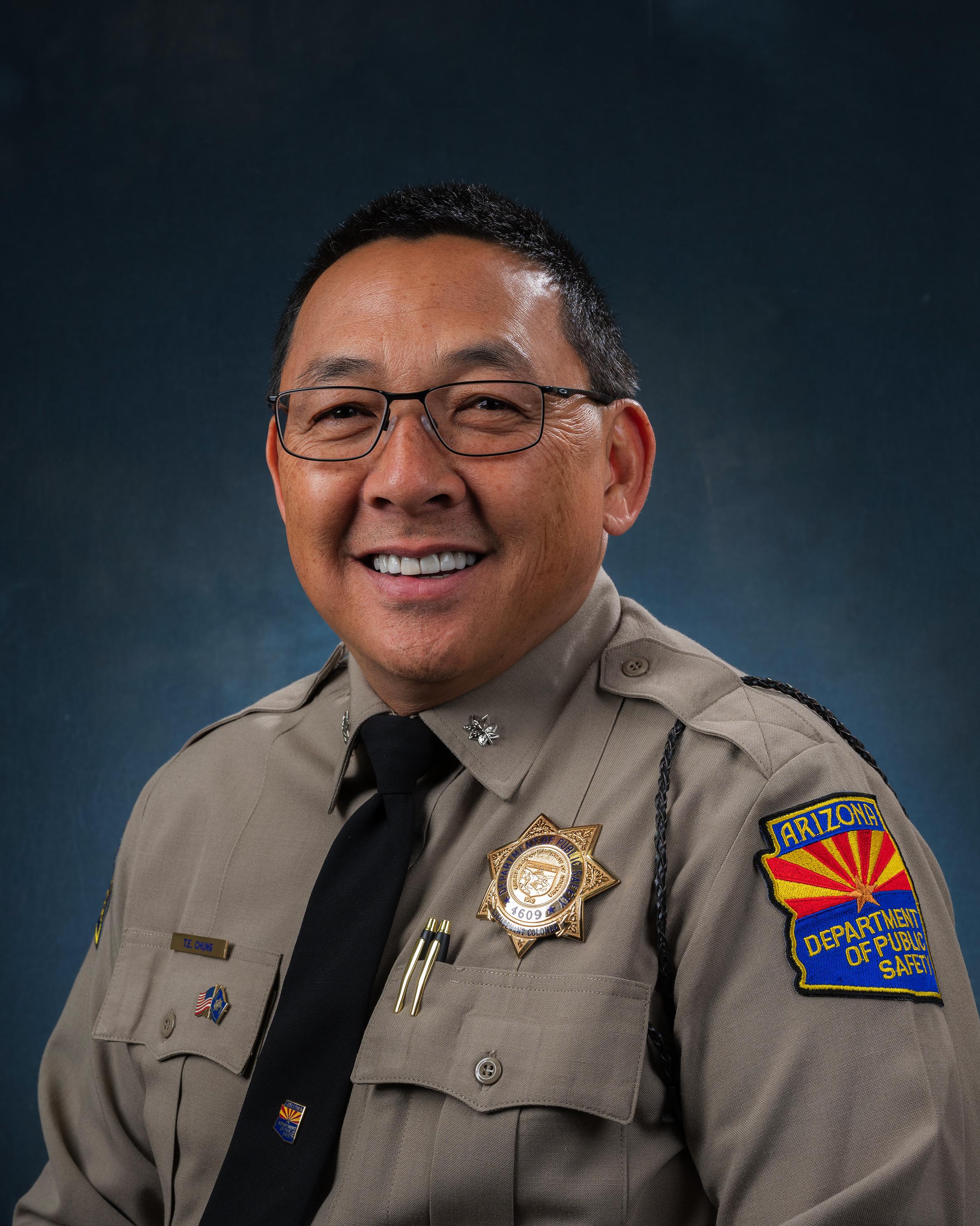 Lt. Col. Chung Portrait