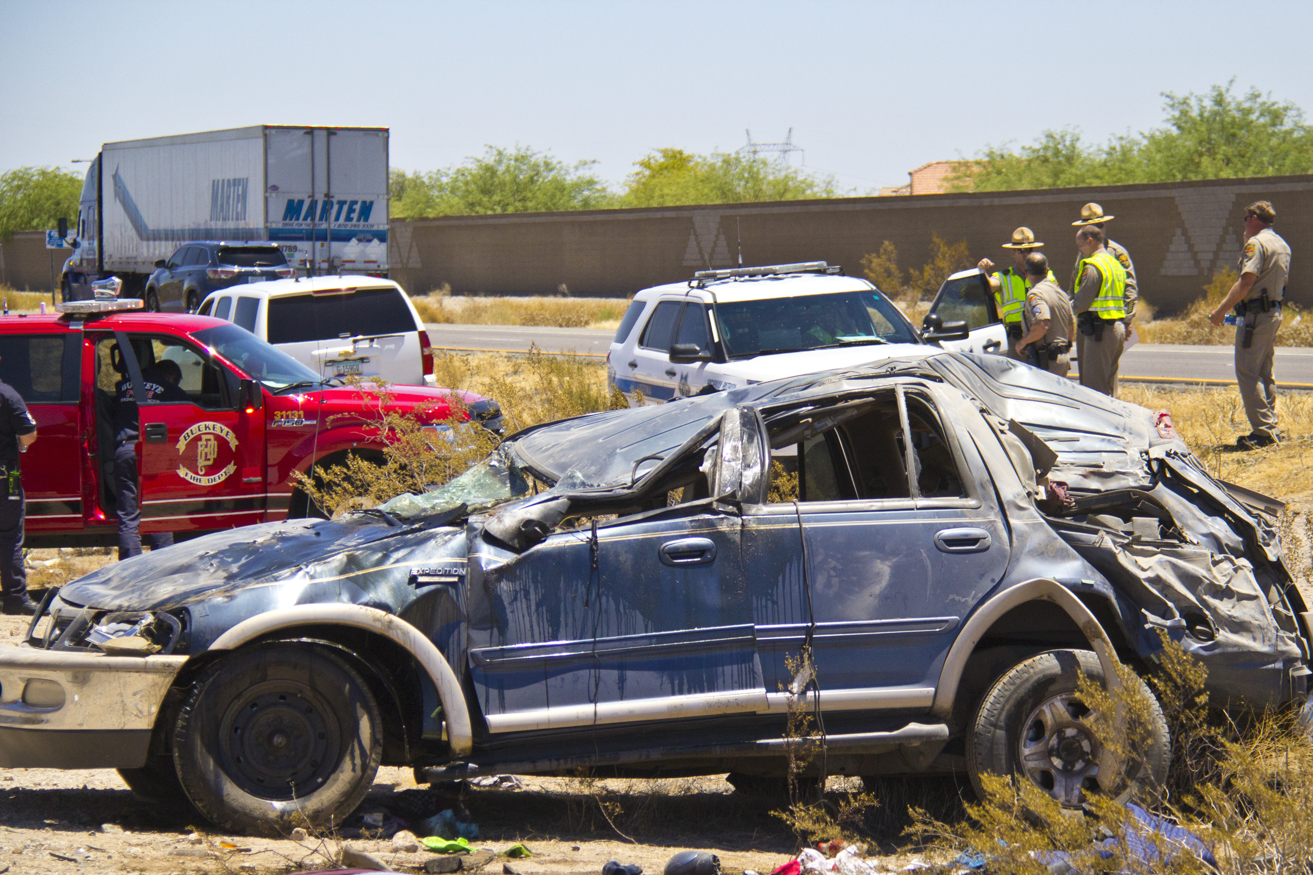 Two Die In Morning Roll-Over Crash West of Phoenix | Arizona