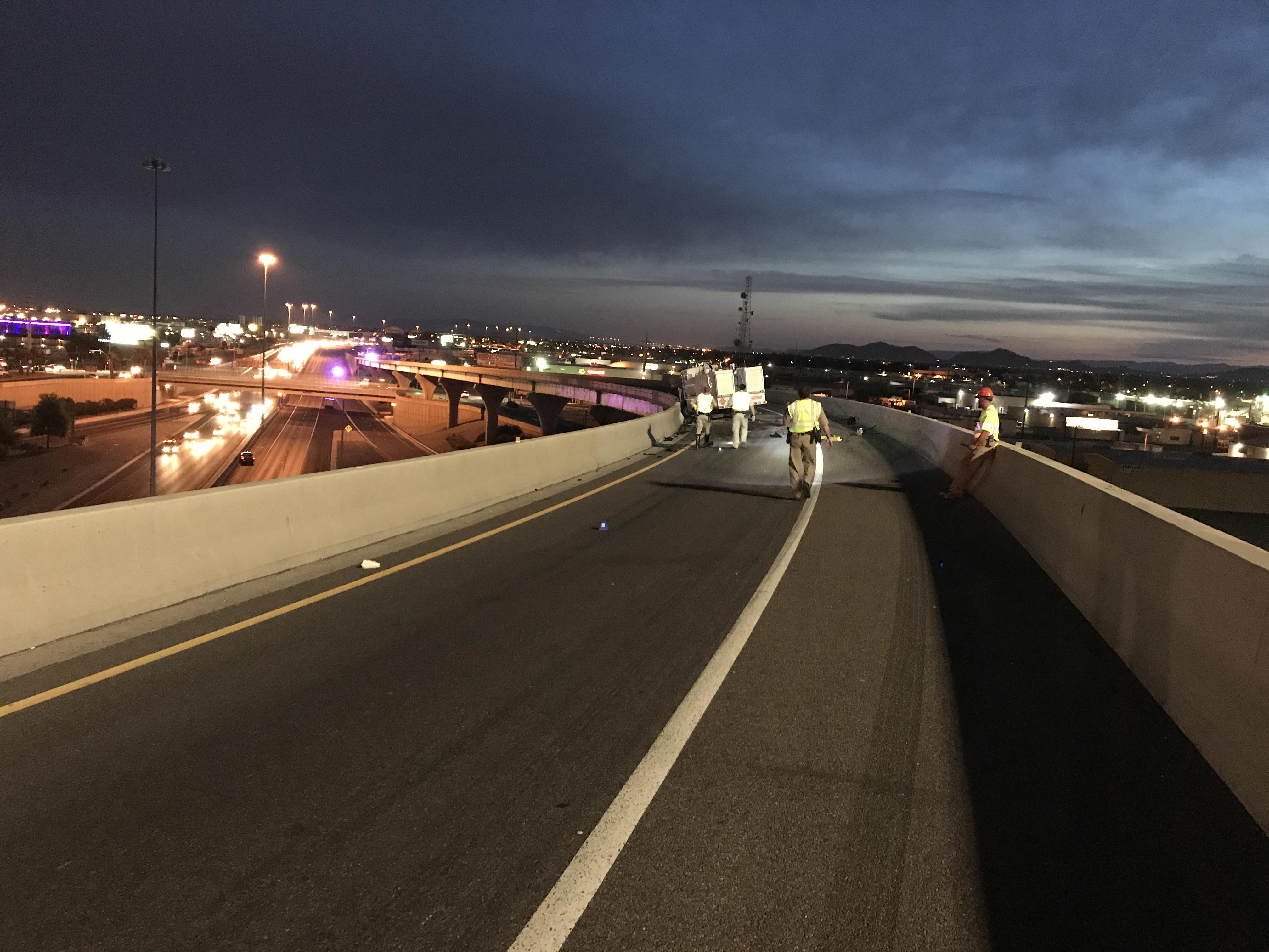 Wrong-Way Fatal Crash Along I17 at the Stack | Arizona Department of