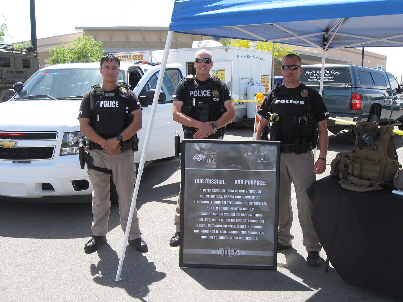 troopers take part in casa grande public safety day