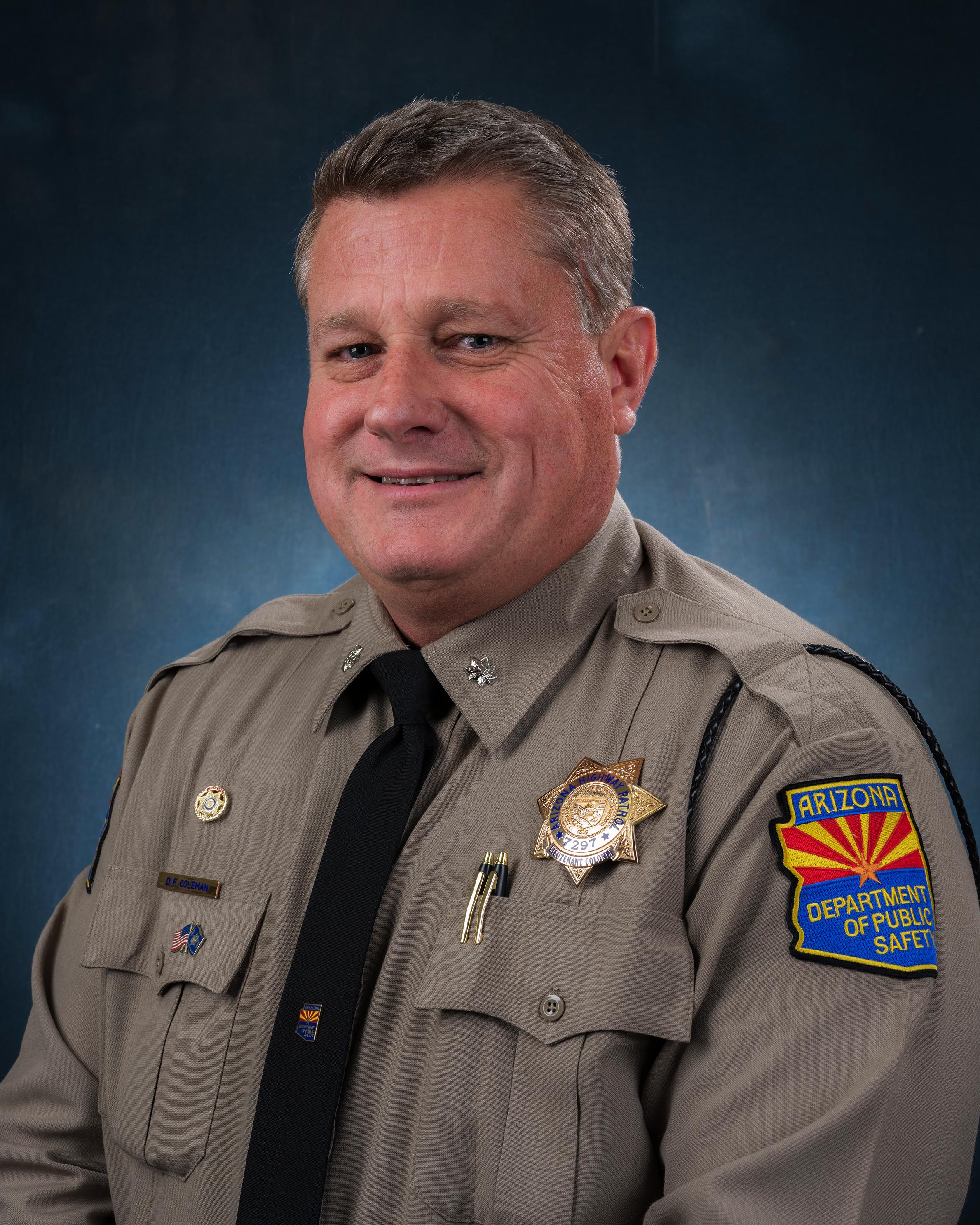 Lt. Col. Coleman Portrait