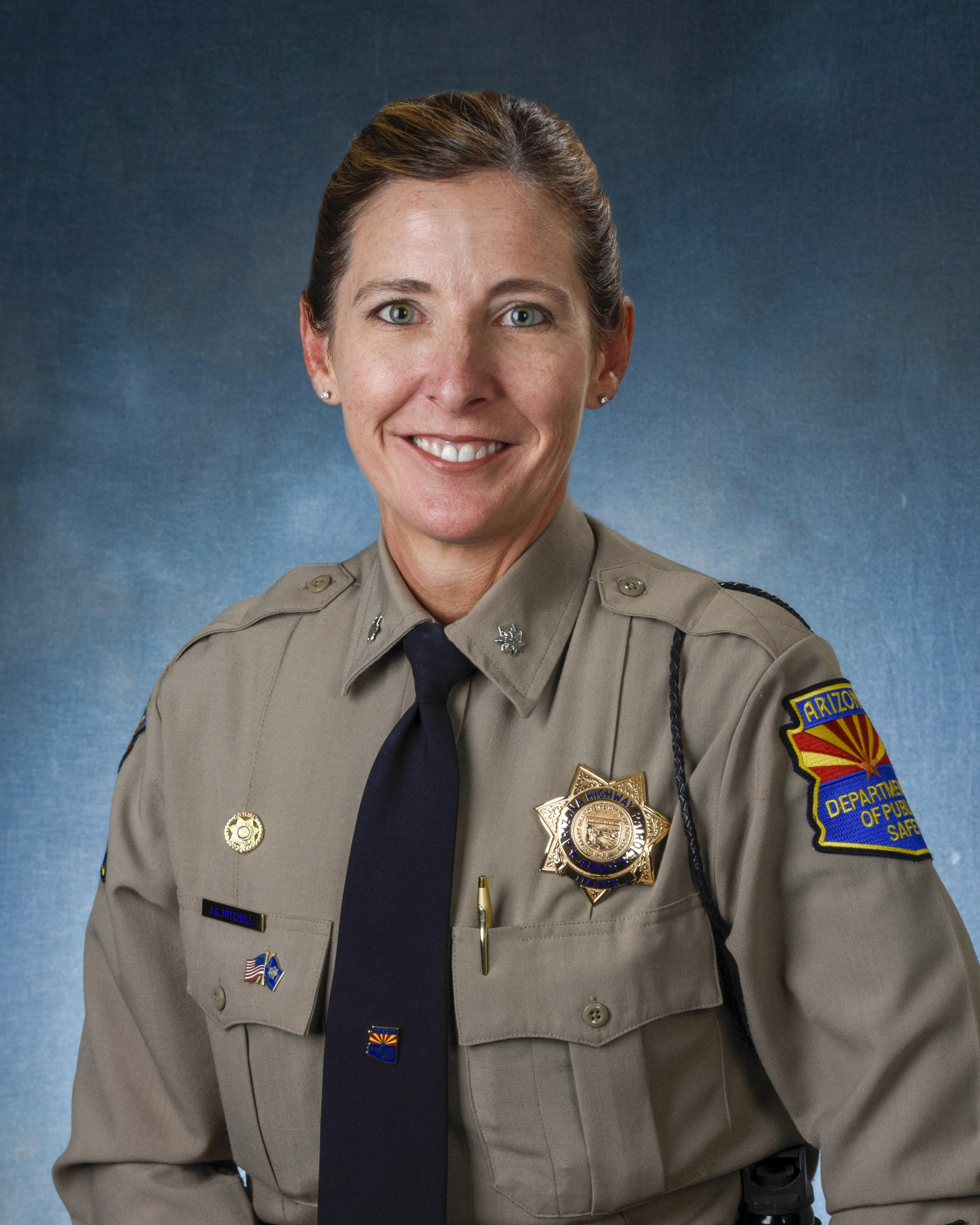Lt Col Jenna Mitchell