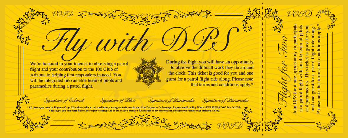 Fly with DPS