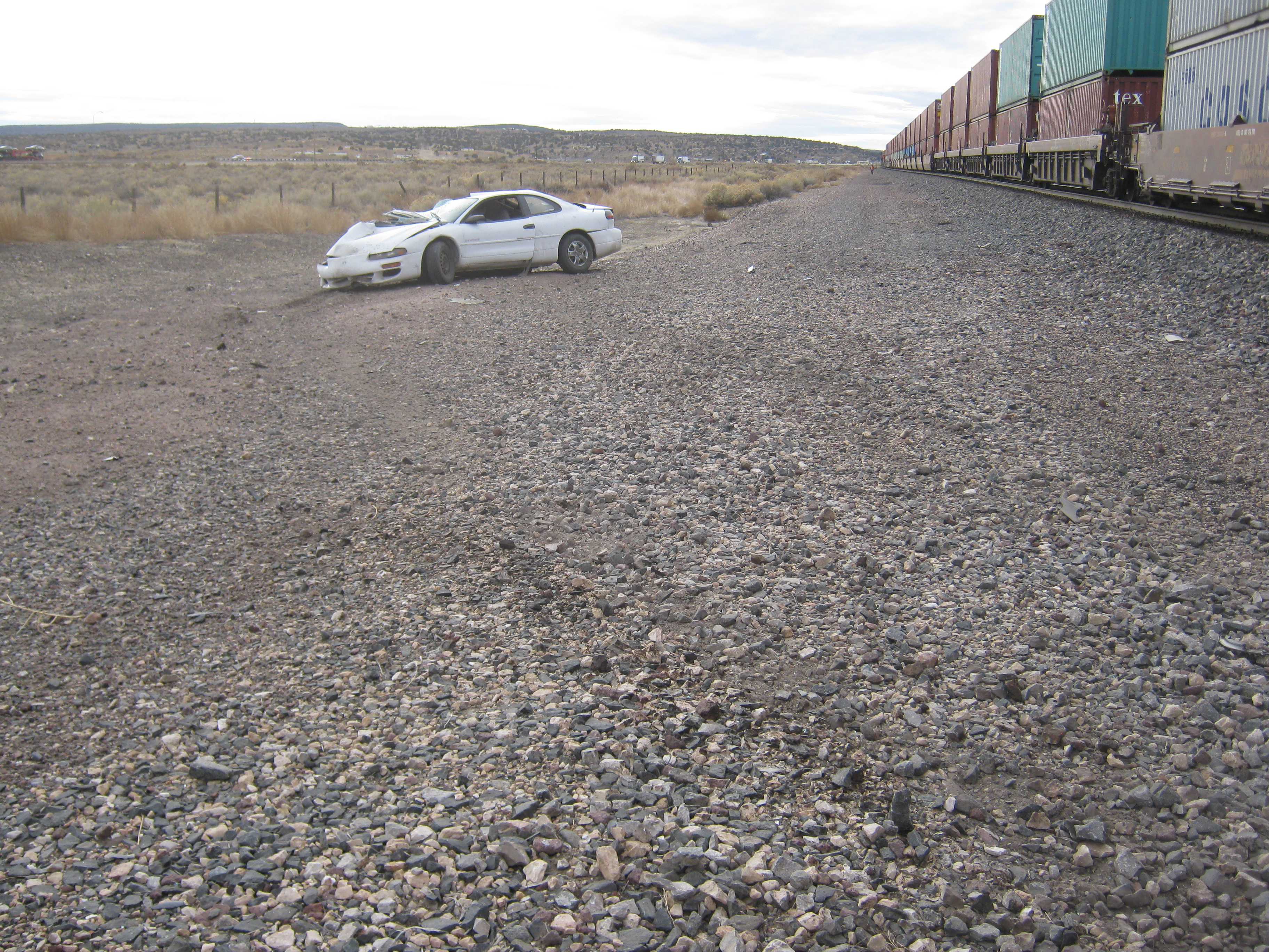car and train