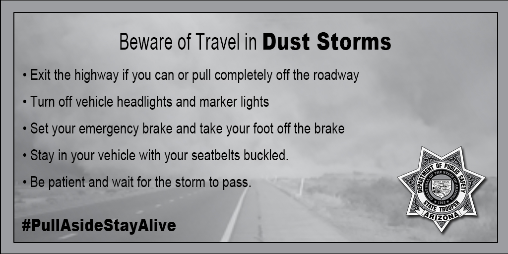 Best Off Road Vehicle Of All Time >> Weather Safety Tips | Arizona Department of Public Safety