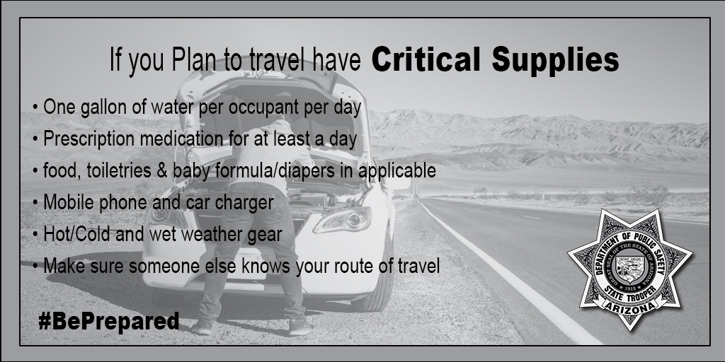 Critical Supplies Graphic