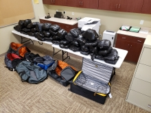 362 pounds of methamphetamine with an estimated street value of $4.1 million